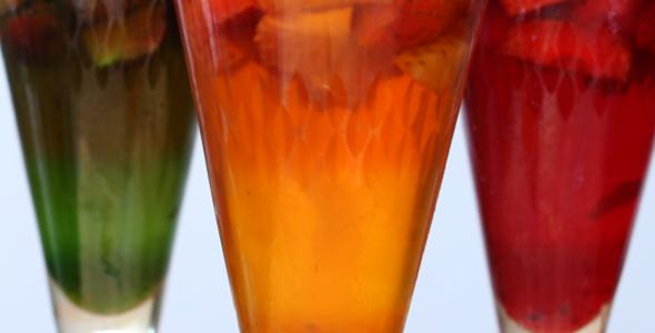 Gelatina arco-íris