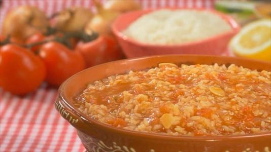 Arroz de tomate delicioso